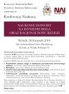 NAI Poznań: Konferencja poświęcona racjonalności religii i naukowym dowodom na istnienieBoga